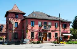Hôtel-Restaurant Au Soleil, 114, rue Principale, 67210, Valff