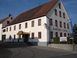 Landhotel zur Kanne, Brühlstrasse 2, 73450, Neresheim