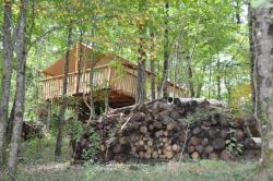 Camping Glamping Terre Rouge, Le Verdier, 12580, Villecomtal