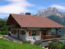 Chambres d'hôtes les Terrasses de Varme, 451 route de Bardet, 74700, Sallanches