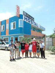 Hostal Alcazaba, San Francísco y Rogerio Figueroa, EC130309, Puerto López