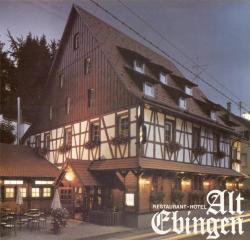 Hotel Alt Ebingen, Langwatte 51, 72458, Albstadt