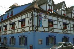 Hôtel Restaurant Aux Deux Roses, 11, rue de Strasbourg, 68600, Neuf-Brisach