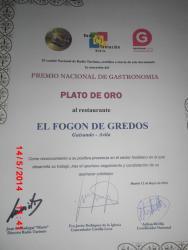 Hostal-Restaurante Fogón de Gredos, Linarejos, 1, 05417, Guisando
