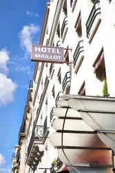 Hotel Maillot, 46 rue de Sablonville, 92200, Neuilly-sur-Seine