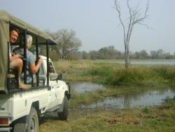 Kaziikini Campsite, Moremi Game Reserve, 26km from Moremi South Gate,, Mokhokhelo