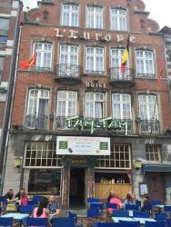 Hotel l'Europe, 36, Grand'Place, 7500, Tournai