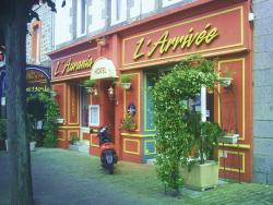 Hotel De L'arrivée, 35 rue de la Gare, 22000, Saint-Brieuc
