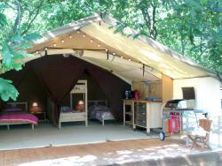 Tente Lodge La Téouleyre, 468, chemin de Jean de Paul, 40170, Saint-Julien-en-Born