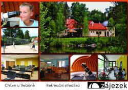 Rekreační a školicí středisko Zájezek, Chlum u Třeboně 355, 378 04, Chlum u Třeboně