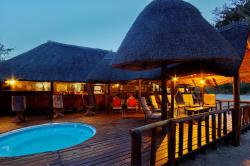 Dinaka Safari Lodge, farm 102, Haina veld, Ngamiland, North West Botswana,, Central Kalahari