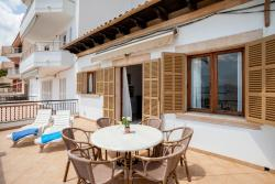 Beach Apartment, Carrer Jafuda Cresques, 1, 07470, Port de Pollensa