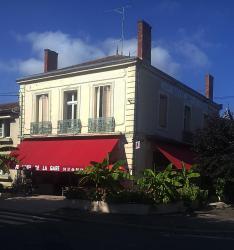 Hotel Café de la Gare, 36 Avenue de La Gare, 33220, Sainte-Foy-la-Grande