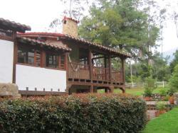 Cabaña Los Santos, Kilometro 12 vía Villa de Leyva- Arcabuco. Vereda Capilla 2, 150007, Cucaita