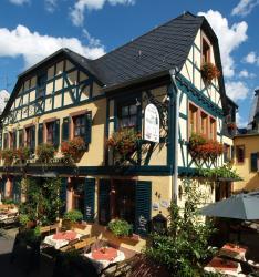 Historisches Weinhotel Zum Grünen Kranz, Oberstrasse 42-44 53-57, 65385, Rüdesheim am Rhein