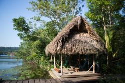 El Hotelito Perdido, Rio Dulce, Livingston, Guatemala, 18002, Lámpara