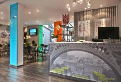 Hotel Alpha Paris Tour Eiffel by Patrick Hayat, 26 Rue Emile Landrin, 92100, Boulogne-Billancourt