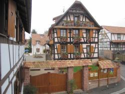 Maison d'hote douce nuit, 6,place de l'eglise, Obermodern - Zutzendorf, 67330, Obermodern