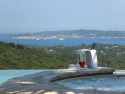 Villa Vue Féérique sur Golfe De Saint Tropez, Route du Plan de la Tour, 83310, Grimaud