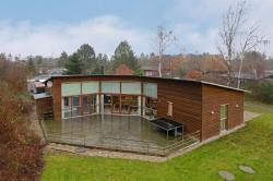 Four-Bedroom Holiday Home Rævehalen with a Sauna 05,  5390, Martofte