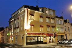 Logis Hotel Le Continental, 17, Rue Du Palais De Justice, 36000, Châteauroux