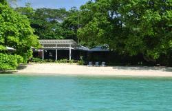 Moyyan House by the Sea, Barrier Beach, Espiritu Santo,, Saraotou