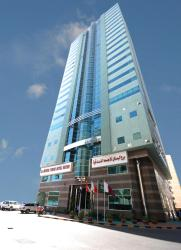 Al Bustan Tower Hotel Suites, Sharjah City Center,, Шарджа