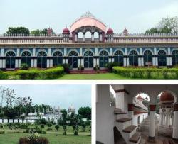 Royal Resort, Dhanbari, Nawab Palace, Tangail, Bangladesh, 1997, Barni Chandbāri