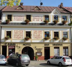 Hotel Panský dům, Vratislavovo nám. 7, 592 31, Nové Město na Moravě
