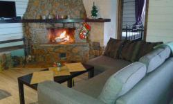 Chalet with Fireplace for Family Vacation, West Coast of Tavatuy Lake, 624186, Калиново
