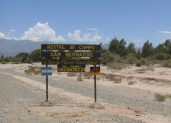 Hostal De Campo San Bernardo, Calle Principal s/n. - B° San Bernardo - Ruta Nacional 40, 5353, Guandacol