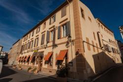 Logis Hotel Moderne Et Pigeon, 1, Place Général Leclerc., 11300, Limoux