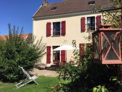 Gite Les Volets Rouges, 19, Rue de Rouen, Le Bord'Haut de Vigny, 95450, Vigny