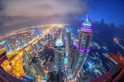Wider View - Princess Tower, Princess Tower Dubai Marina,, ドバイ