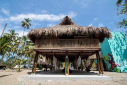 Costeño Beach Surf Camp, km 36 via La Guajira, 000111, Guachaca