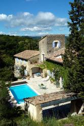 """Maison d'Hôtes Les Fougères, Route des Reys - Lieu dit """"Les Fougeres"""", 26270, Mirmande"""