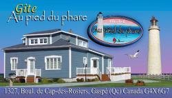 Gite au Pied du Phare, 1327 boul. De Cap-des-Rosiers, G4X 6G7, Cap-des-Rosiers