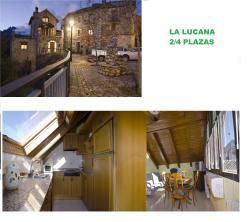 Apartmento La Lucana Ordesa, c/ Barrio Viejo 36 3ª planta Atico abohardillado, 22361, Laspuña