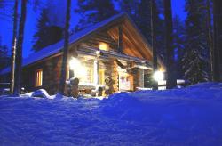 Hirvipirtit Lapland Cabins, Raappanansuontie 45b, 93420, Jurmu