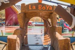 Hotel y Parque Acuático La Boya, Del cruce de Huacas 800 metros sur,, Huacas