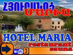 Maria Hotel, Arshavir Melikyan 3, 3801, Vajk
