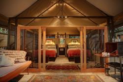 Meno A Kwena Tented Camp, Makgadikgadi Pans National Park, BOTSWANA,, Ngwala