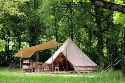 Atypik Nomad, Camping Municipal les écureuils, 26310, Recoubeau