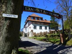 Hotel Landgut Aschenhof, Aschenhofer Weg 10, 98529, Suhl