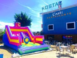 Hostal Casti, Autovia de Extremadura Km.154,400, 45588, Herreruela de Oropesa