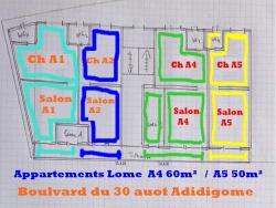 Appartements Lome Marie Antoinette, Boulvard du 30 auot,, Atigan