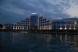Agsaray Deluxe Hotel, Right bank of the Kur, Gence pr. H.Huseynov St. 1, Agsaray Hotel,, AZ4500, Mingachevir