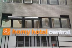 Homy Hotel Central, 1/F-12/F, Travel Way Building, 105-107 Wing Lok Street, Sheung Wan,, Гонконг