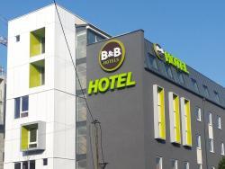 B&B Hôtel Paris Est Bobigny, Avenue de la Convention - Rue René Goscinny, 93000, Bobigny