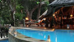 Selous Serena Camp, Selous Game Reserve, Simbazi River,, Mkalinzu